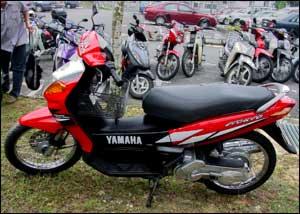 My Yamaha Nouvo AT 115