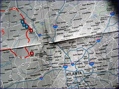 Mad Maps Get Outta Town Atlanta