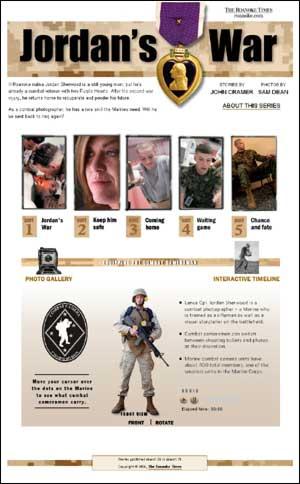 Jordan's War front