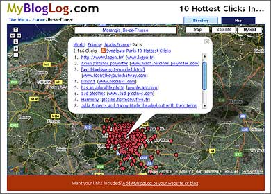 10 Hottest Clicks in Paris, Ile-de-France, Sept. 8, 2006, 11:14 a.m. -05:00 GMT