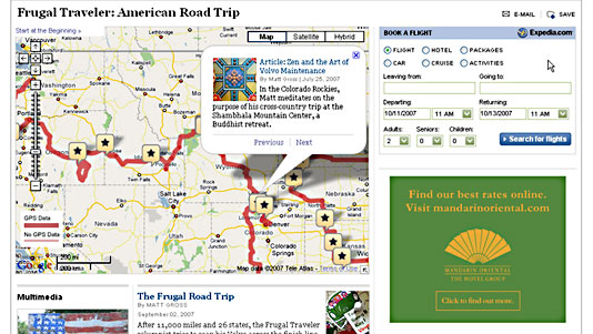 Frugal Traveler: American Road Trip