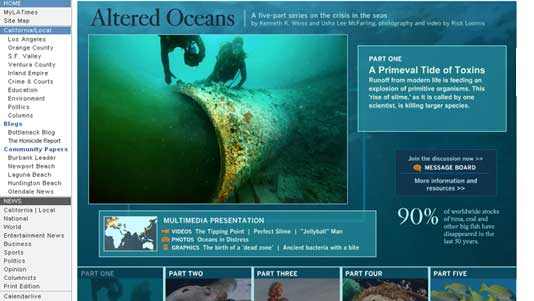 Oceans: Los Angeles Times