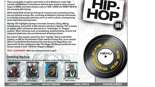 Hip-Hop: Wisconsin State Journal