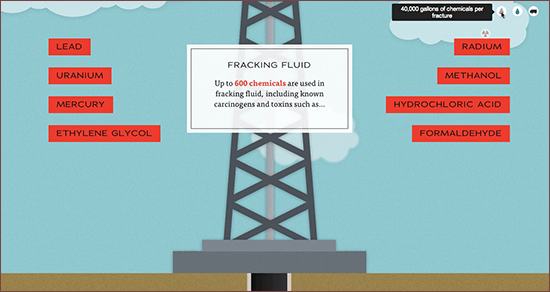 Screenshot: Fracking