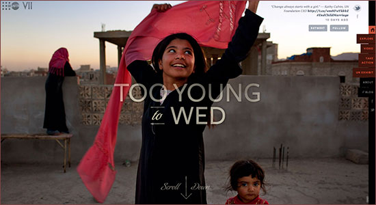 Screenshot: Too Young to Wed