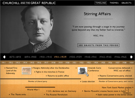Library of Congress: Churchill and the Great Republic